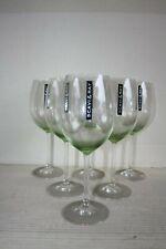 6 Scavi & Ray Hugo-Gläser = grün schimmernd = 450 ml / Eichung bei 0,2 Liter