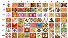 Kashiwall:Wall Tile Sticker Kitchen Bathroom Decorative Decals-Pack of 4-10X10cm