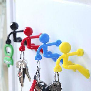 Creative Fun Magnetic Man Fantastic Magnetic Key Holder Black Green Red & Blue
