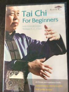 Tai Chi for Beginners with Grandmaster William C.C. Chen (DVD, 2009) New Sealed