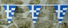 More details for greece flag polyester bunting - various lengths