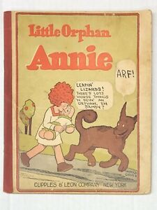 LITTLE ORPHAN ANNIE #1 1926 HAROLD GRAY CUPPLES & LEON VERY RARE ORIGINAL