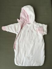 Koala Baby Hooded Bunting Carseat/ Stroller Sack Size 3-6 Months EUC in Pink
