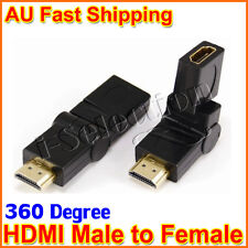 360 Degree Swivel HDMI V1.4 Male to Female Adapter Connector Joiner Extender