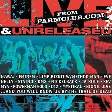 Various Artists : Live & Unreleased From Farmclub.Com CD