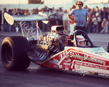 DRAGSTER PHOTO SHIRLEY MULDOWNEY  NHRA DRAG RACING FREMONT 1976