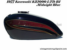 KAWASAKI PAINT 1977 KZ1000 LTD1000 MIDNIGHT BLUE RESTORATION PAINT BEST