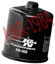FILTRE À HUILE K&N 2699303 KAWASAKI ZX6 R 600 ZX10R 1000 ZX Z1000 Z750 KN-303