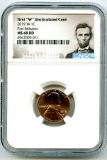 2019 W LINCOLN PENNY NGC MS68 RD UNCIRCULATED CENT FIRST RELEASES PORTRAIT
