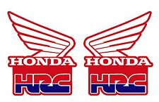 Radiator Shroud Decals for Honda CR500 CR250 CR125 dirtbikes