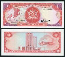 Trinidad & Tobago 1$ 1985 Birds & Coat of Arms - P36c - Signature 6 - U