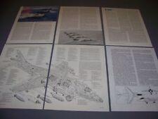 VINTAGE..DOUGLAS HARRIER GR MK.5..STORY/CUTAWAY/3-VIEWS/SPECS..RARE! (257F)