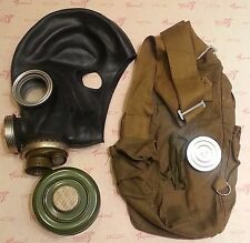 Gas Mask GP-5M Soviet Army Black Rubber PMG-2 (FILTER 40mm, BAG) Size Large (3)