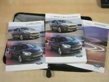FORD GALAXY ,  S-MAX  OWNERS MANUAL -OWNERS HANDBOOK 2015-2017 SERVICE BOOK