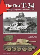 Muslow The First T-34 Birth Of A Legend Model 1940 Panzer Tank Russland