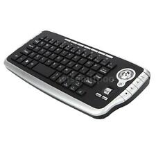 E30 2.4GHz Wireless Keyboard with Trackball Mouse Scroll Wheel Remote E7T6