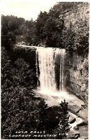RPPC Lookout Mountain Georgia Lula Falls Vintage Real Photo Postcard