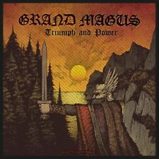 """Grand Magus """" Triumph and Power """" Patch/Aufnäher 602471 #"""