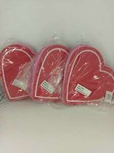 Lot Of 3 12 Packs Of 11x10.25 Foam Heart Bases