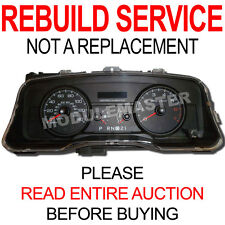 06 07 08 09 10 11 Ford Crown Victoria Vic Instrument Cluster REPAIR REBUILD