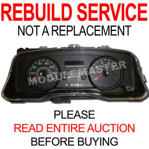 Rebuild Repair for 06 07 08 09 10 11 Ford Crown Victoria Vic Instrument Cluster