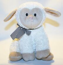 Lullaby Lamb Plush Stuffed Gund Christian Books Does not play music Lovey