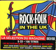 ROCK & FOLK - IN THE UK - COMPILATION 5 CD 100 TITRES NEUF SOUS CELLO