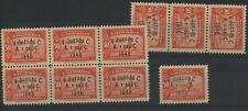 Colombia 1946 Central American & Caribbean Games 50c 11 copies  MNH