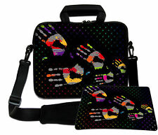 LUXBURG 13,3 Inch Design Laptop Notebook Shoulder Bag with Matching Mousepad #DC