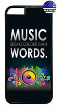 Music Speaks Dancing Rubber Case Cover For iPhone 11 Pro Max Xs XR 8 Plus 7