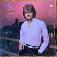 RICKY SKAGGS  DON'T CHEAT IN OUR HOMETOWN  LP  EXC WITH SHRINK WRAP