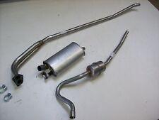 Auspuff Auspuffanlage Abgasanlage Volvo P121 P122 Amazon 1.8L+2.0L  Bj. 67-71