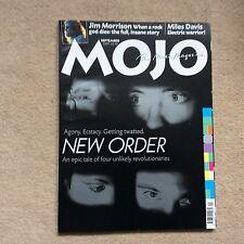 Mojo Magazine Sept 2001 - New Order, Jim Morrison, Miles Davis etc