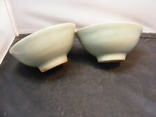 old celadon  chinese  bowls