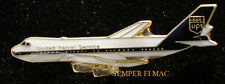 UPS B-747 PLATED HAT LAPEL PIN UP PILOT CREW WING GIFT FREIGHT AIRLINER