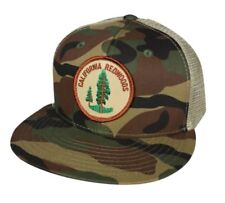 California Redwoods - Camouflage and Khaki Trucker Hat by LET'S BE IRIE