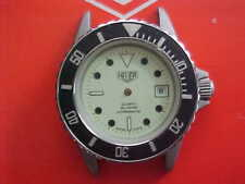 Vintage Heuer New Old Stock Case And Dial Reference 982.115 Night Vision Model