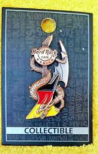 Hard rock cafe munich HRC gran Core 3d Dragon & Flag Guitar pin!!!