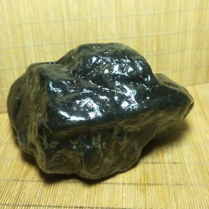 1409 g Olivine meteorite rare metal mineral rock crystal specimen