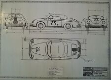 James Dean's Porsche 356 Speedster #23 F * 644.003.301.00  from Porsche KG