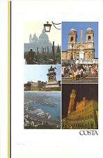 Collezionismo Cartaceo - Menu - Costa Crociere - Daphne - Captain's gala -  1991