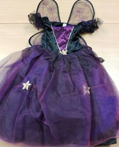 Girls Fancy Dress Costume Witch with Wings Halloween Dress Up Age 11-13