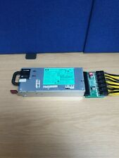 More details for hp power supply psu 1200w hot plug dps-1200fb 570451-101 mining £1 auction!