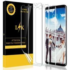 For Samsung Galaxy S9 Screen Protector Anti Scratch Liquid Skin 3 Pack Ultra HD