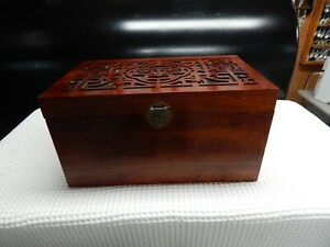 Pier 1 Imports Indonesia Wood Writing Desk Tool Chest