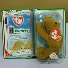 Ty McDonald's Legends Teenie Beanie Baby Humphrey the Camel, Sealed