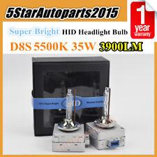 2pcs D8S 5500k 35W Xenon HID Headlight Bulb Fog Lamp Replacement for Osram 66548