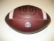 2019 Ohio State Buckeyes GAME USED Wilson PRIME Football University OSU Ball