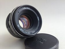 MC ZENITAR-M 1,9/50mm M42 USSR there is a fungus