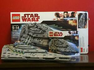 LEGO Star Wars First Order STAR DESTROYER #75190 NM w/Box, book+ CCE PRICE DROP+